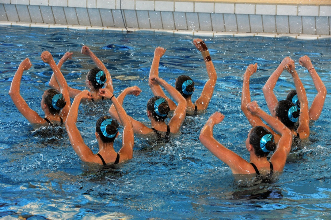 Zwemuren Leuven Aquatics Synchroonzwemmen