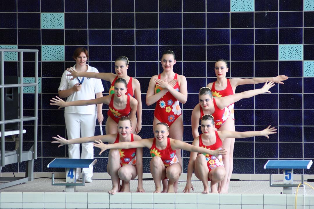 Ploegen Leuven Aquatics Synchroonzwemmen